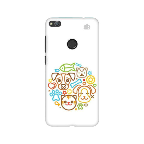 Cute Pets Huawei Honor 8 Lite Phone Cover