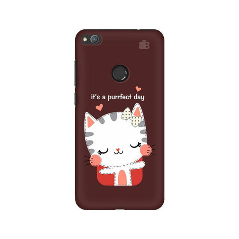 Purrfect Day Huawei Honor 8 Lite Phone Cover