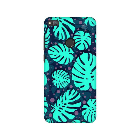 Tropical Leaves Pattern Huawei Honor 8 Lite Phone Cover