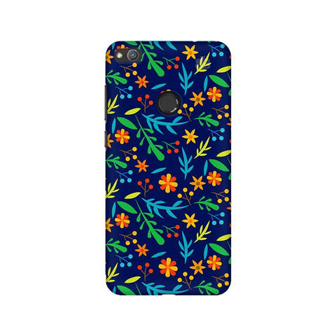 Vibrant Floral Pattern Huawei Honor 8 Lite Phone Cover