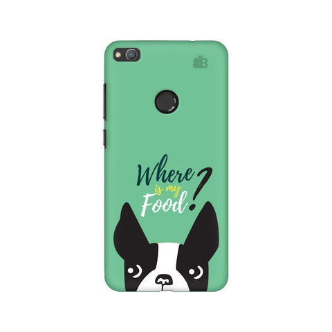 Where is my Food Huawei Honor 8 Lite Phone Cover