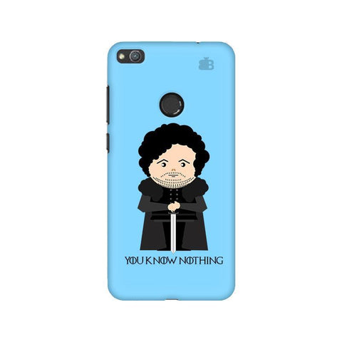 You Know Nothing Huawei Honor 8 Lite Phone Cover