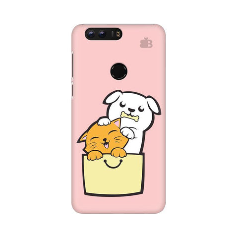 Kitty Puppy Buddies Huawei Honor 8 Phone Cover