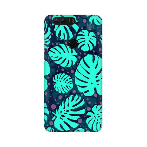 Tropical Leaves Pattern Huawei Honor 8 Phone Cover