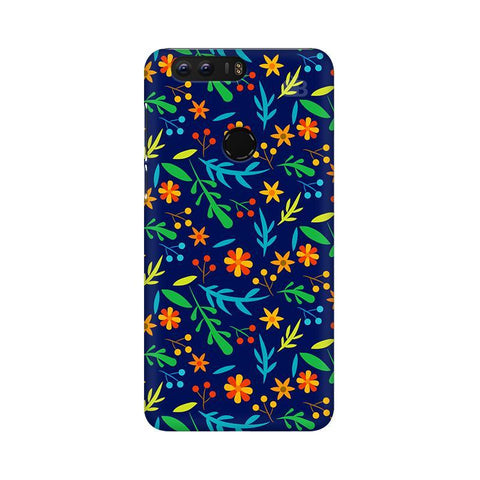 Vibrant Floral Pattern Huawei Honor 8 Phone Cover