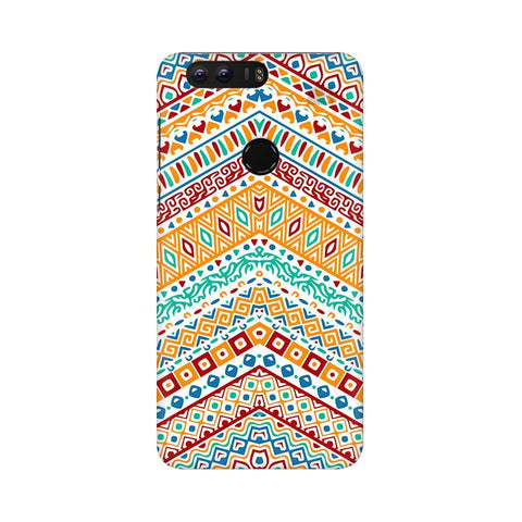 Wavy Ethnic Art Huawei Honor 8 Phone Cover