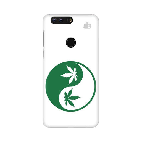 Weed Yin Yang Huawei Honor 8 Phone Cover