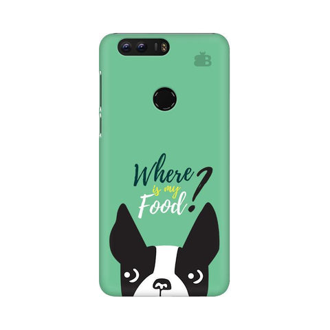 Where is my Food Huawei Honor 8 Phone Cover