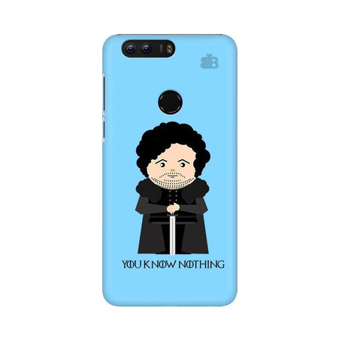 You Know Nothing Huawei Honor 8 Phone Cover