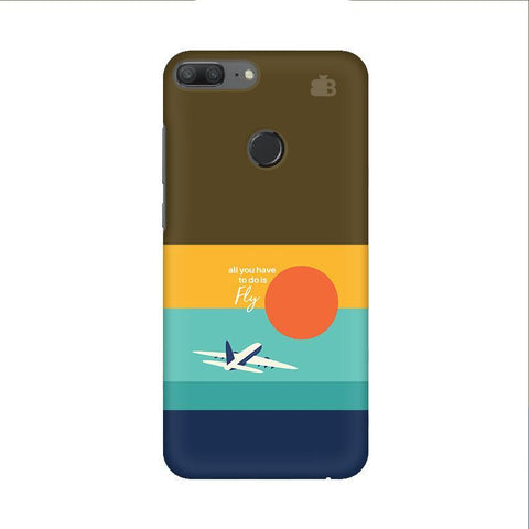 Just Fly Huawei Honor 9 Lite Phone Cover