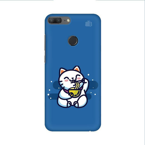 KItty eating Noodles Huawei Honor 9 Lite Phone Cover