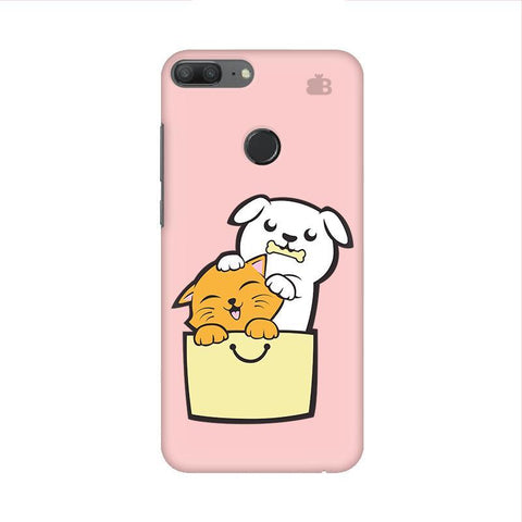Kitty Puppy Buddies Huawei Honor 9 Lite Phone Cover