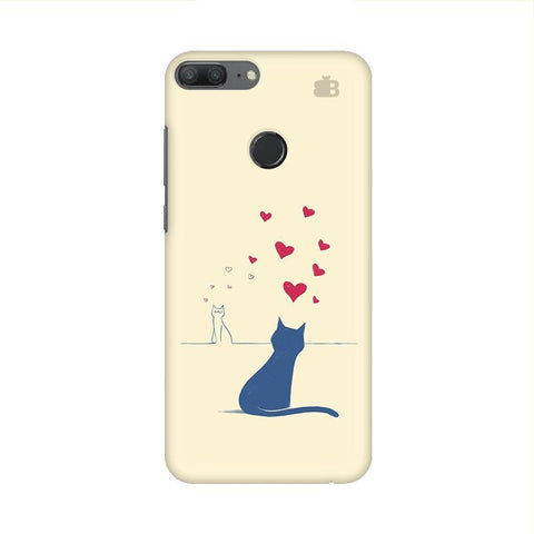 Kitty in Love Huawei Honor 9 Lite Phone Cover