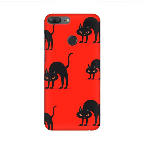 Scary Cats Huawei Honor 9 Lite Phone Cover