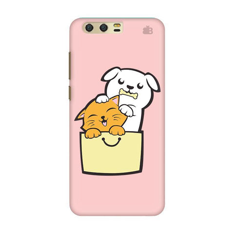 Kitty Puppy Buddies Huawei Honor 9 Phone Cover