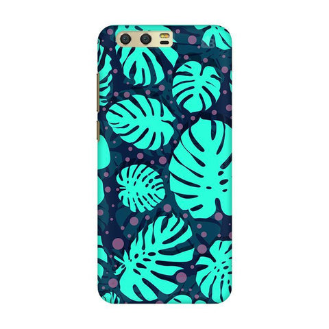 Tropical Leaves Pattern Huawei Honor 9 Phone Cover