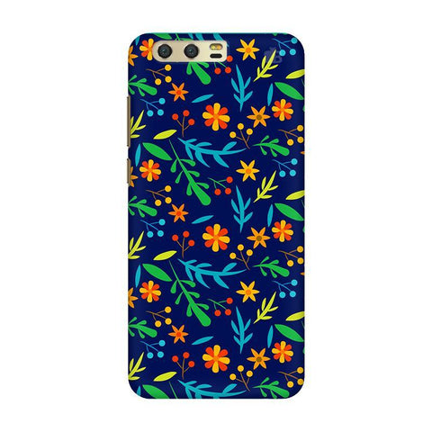 Vibrant Floral Pattern Huawei Honor 9 Phone Cover