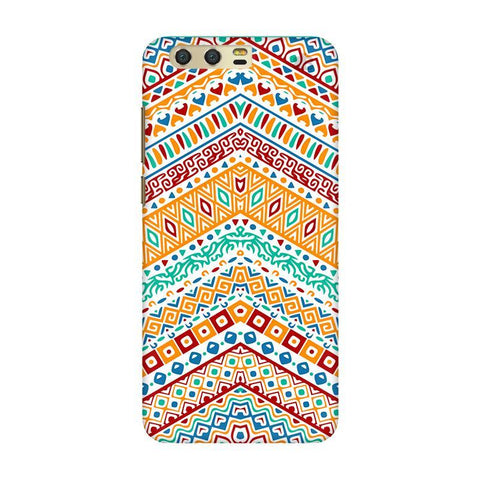 Wavy Ethnic Art Huawei Honor 9 Phone Cover