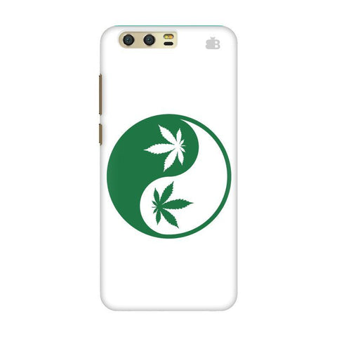 Weed Yin Yang Huawei Honor 9 Phone Cover