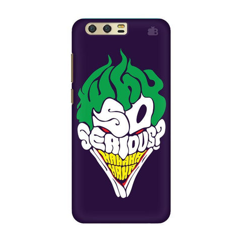 Why So Serious Huawei Honor 9 Phone Cover