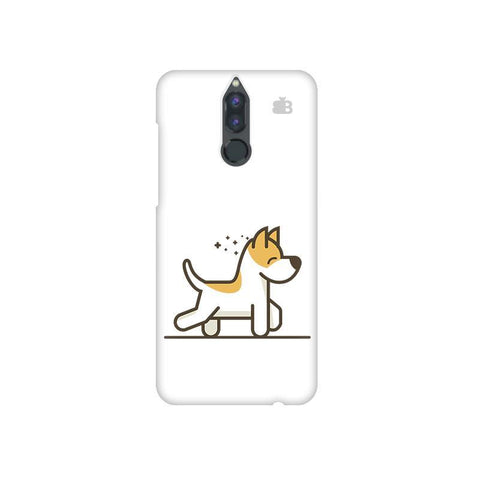 Happy Puppy Huawei Honor 9i Phone Cover