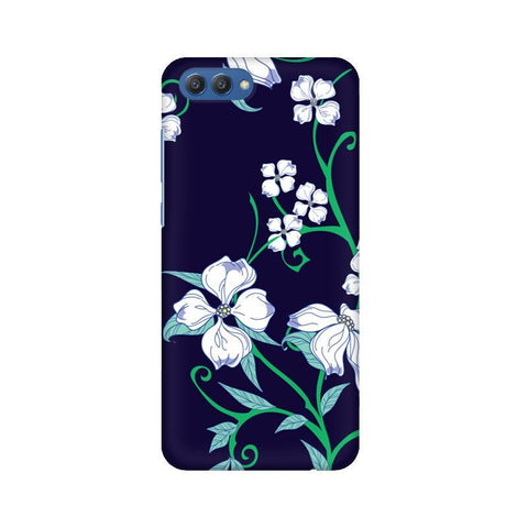 Dogwood Floral Pattern Huawei Honor V10 Phone Cover