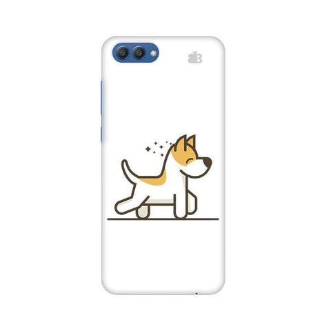 Happy Puppy Huawei Honor V10 Phone Cover