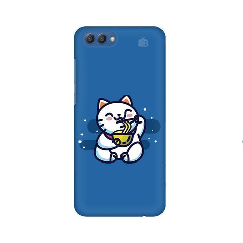 KItty eating Noodles Huawei Honor V10 Phone Cover