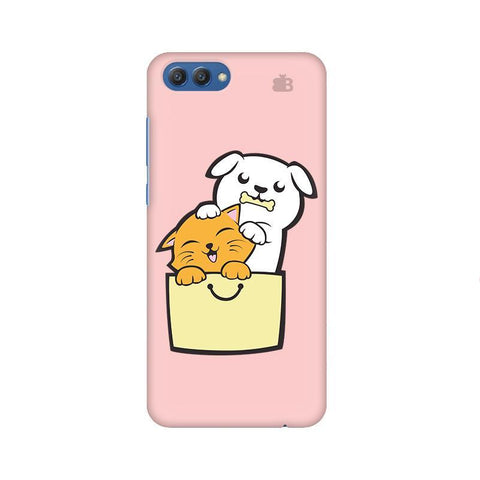 Kitty Puppy Buddies Huawei Honor V10 Phone Cover