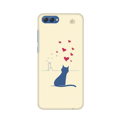 Kitty in Love Huawei Honor V10 Phone Cover