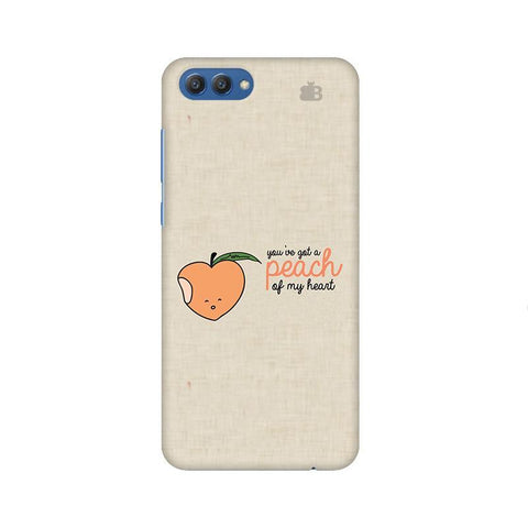 Peach of my heart Huawei Honor V10 Phone Cover