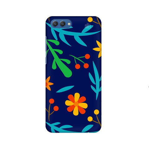 Vibrant Floral Pattern Huawei Honor V10 Phone Cover