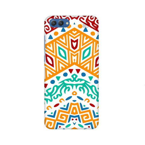 Wavy Ethnic Art Huawei Honor V10 Phone Cover