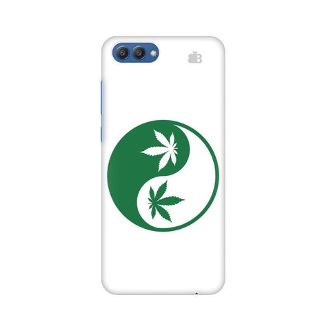 Weed Yin Yang Huawei Honor V10 Phone Cover
