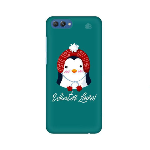 Winter Love Huawei Honor V10 Phone Cover