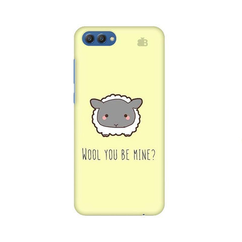 Wool Huawei Honor V10 Phone Cover