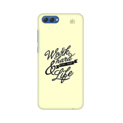 Work Hard Huawei Honor V10 Phone Cover