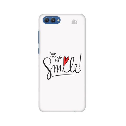 You make me Smile Huawei Honor V10 Phone Cover