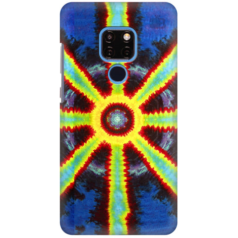 Tie Die Pattern Huawei Mate 20 Cover