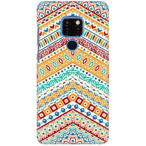 Wavy Ethnic Art Huawei Mate 20 Cover