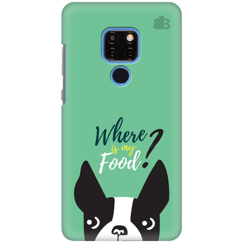 Where is my Food Huawei Mate 20 Cover