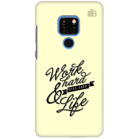 Work Hard Huawei Mate 20 Cover