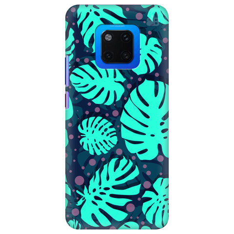 Tropical Leaves Pattern Huawei Mate 20 Pro Cover