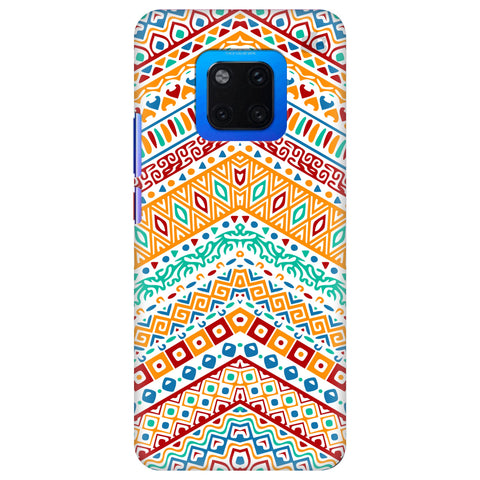 Wavy Ethnic Art Huawei Mate 20 Pro Cover