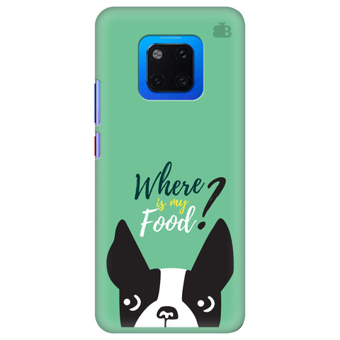 Where is my Food Huawei Mate 20 Pro Cover