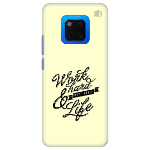 Work Hard Huawei Mate 20 Pro Cover