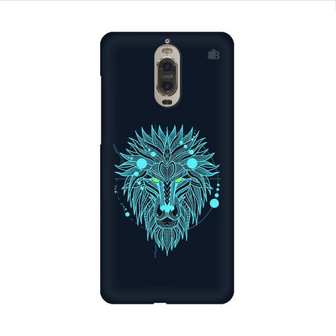 Abstract Art Lion Huawei Mate 9 Pro Design Phone Cover