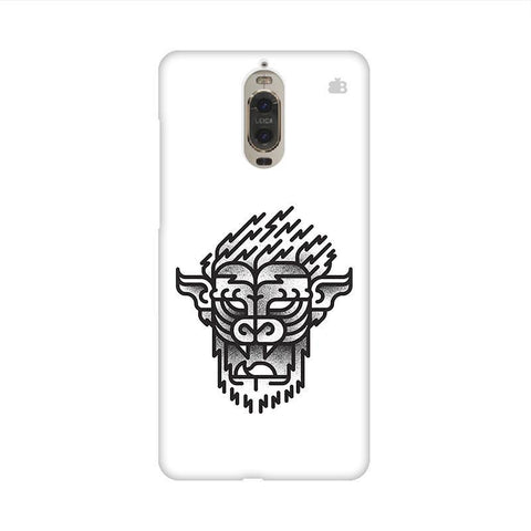 Arty Lion Huawei Mate 9 Pro Design Phone Cover