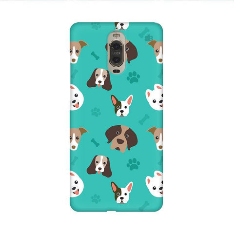 Doggie Pattern Huawei Mate 9 Pro Design Phone Cover