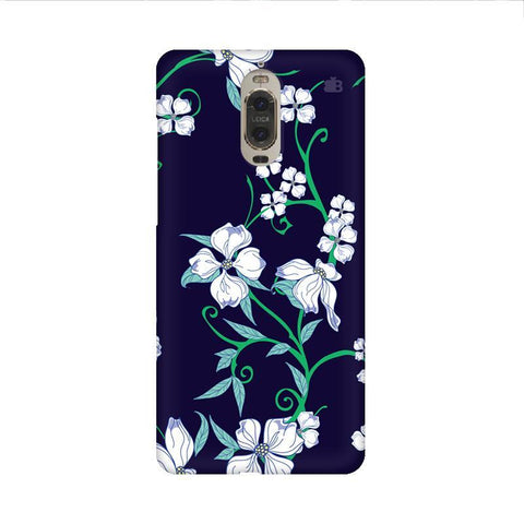 Dogwood Floral Pattern Huawei Mate 9 Pro Design Phone Cover